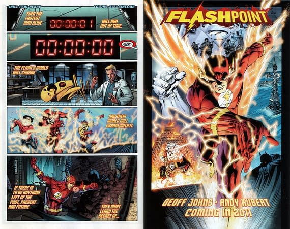 John Babos Puts Together Geoff Johns' Flashpoint Event