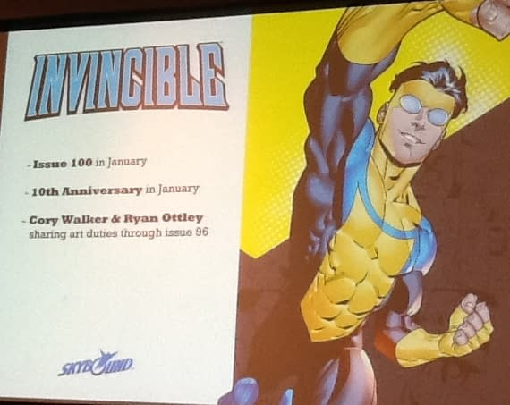 Robert Kirkman Announces The Death Of… For Invincible One Hundred