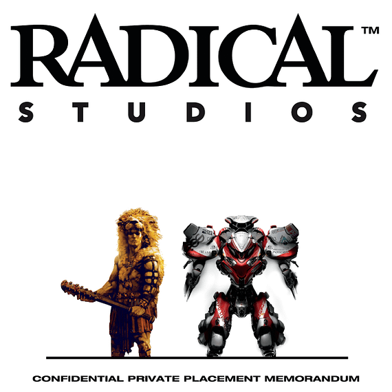 Radical Publishing Becomes Radical Studios, Values Itself At $84,000,000 (BleediLeaks)