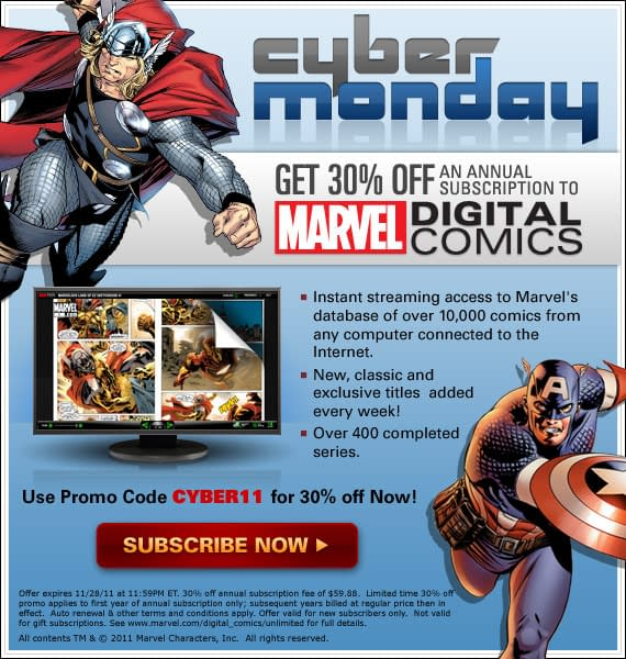 Here Comes Cyber Monday – Fill Your Digital Boots!