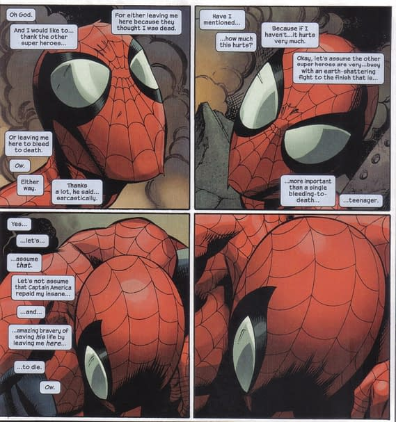 Ultimate Death Of Spider-Man: Wednesday Comics Review