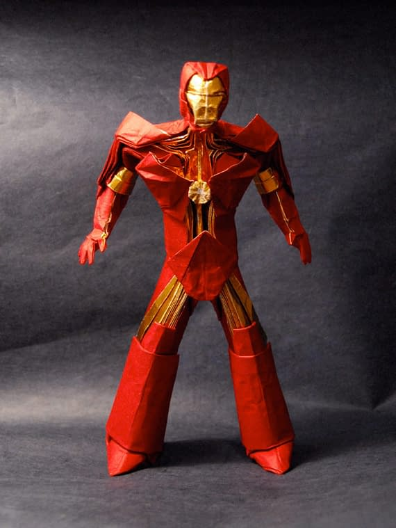 Origami Iron Man And An Army Of Paper Warriors
