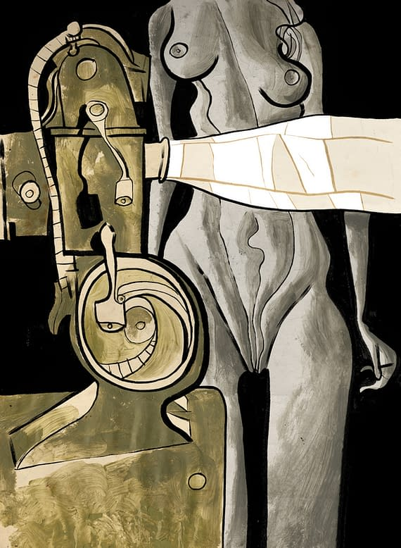 Fantagraphics To Publish Dave McKean's Celluloid In June