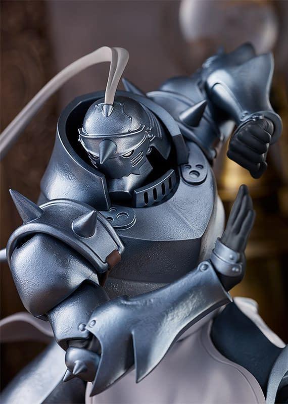 Full Metal Alchemist Pop Up Parade Statues Land at Good Smile