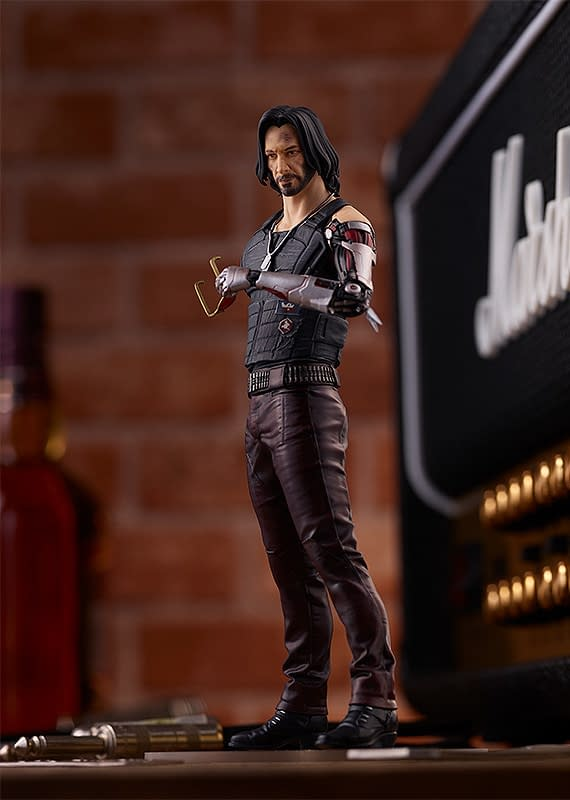 Cyberpunk 2077 Johnny Silverhand Joins Good Smile's Pop Up Parade
