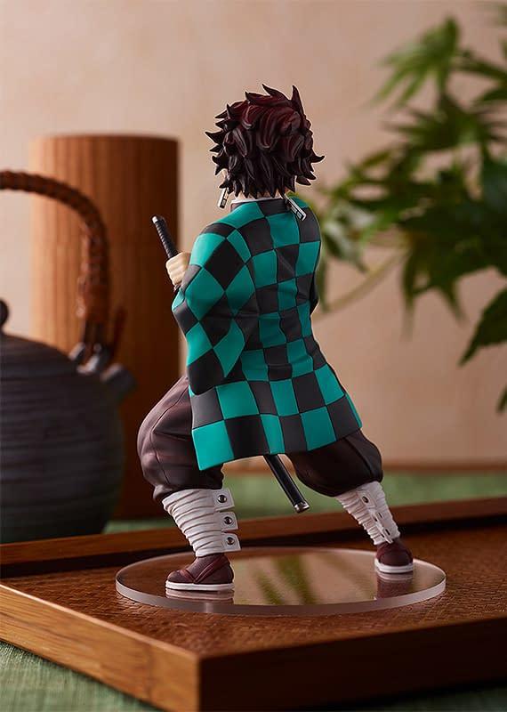 Demon Slayer Tanjiro Kamado Pop Up Statue Unveiled by Good Smile