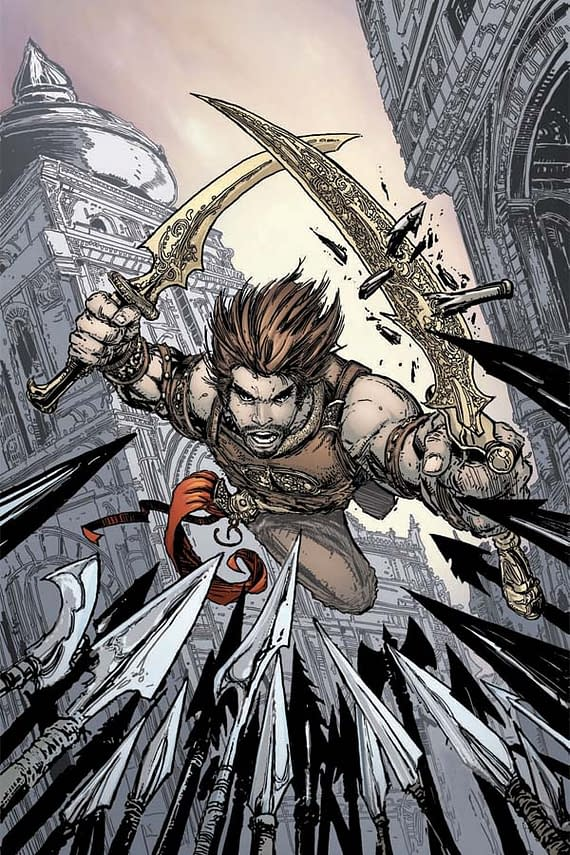 Todd McFarlane Draws Prince Of Persia – But Who Else?
