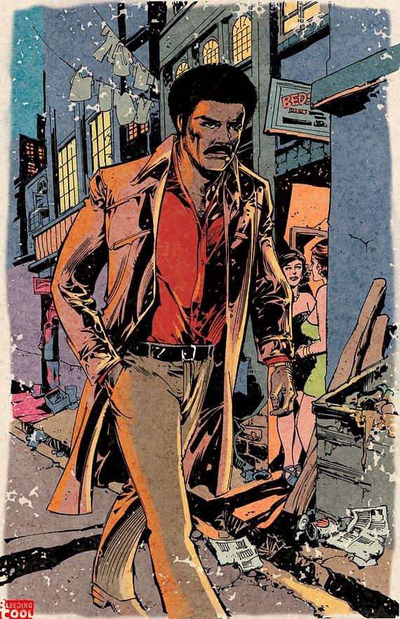 First Shots From Ape Entertainment's Black Dynamite by Jun Lofamia