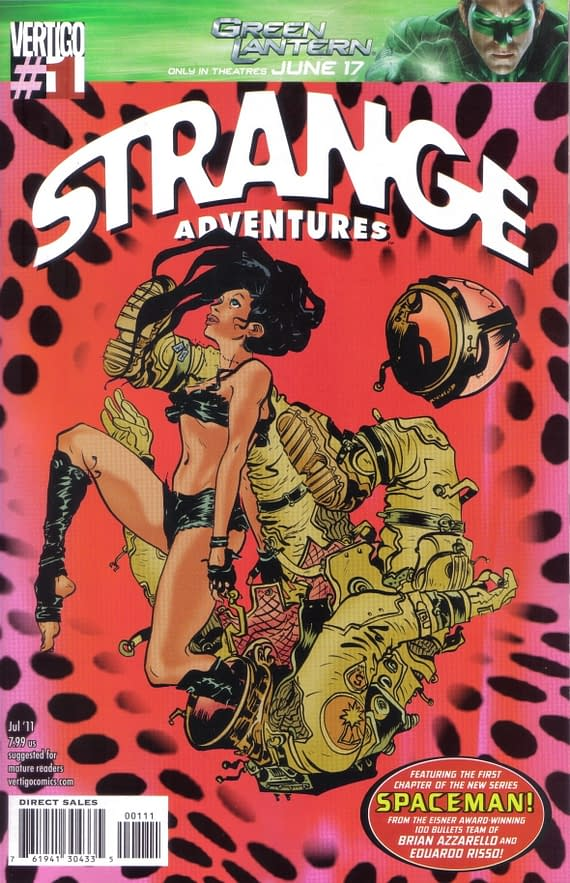 Swipe File: Strange Adventures #1 And A Slice Of Watermelon