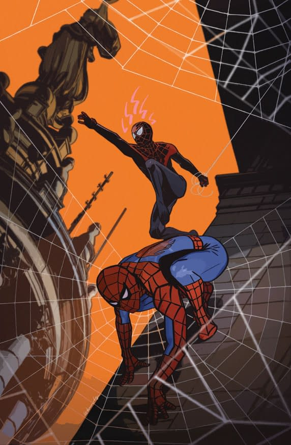 Tommy Lee Edwards' Variant Cover For Spider-Men #5 For Dublin Comic Con