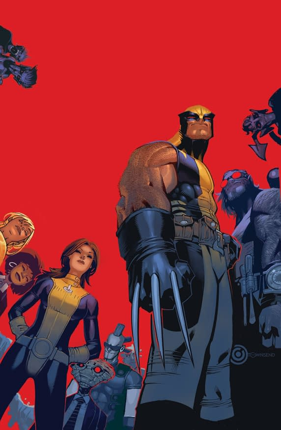 Wolverine And The X-Men #1 Cover Revealed. Again Again.