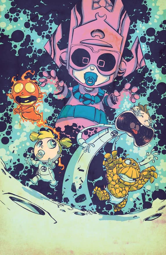 All The Skottie Young Marvel NOW! Baby Variant Covers