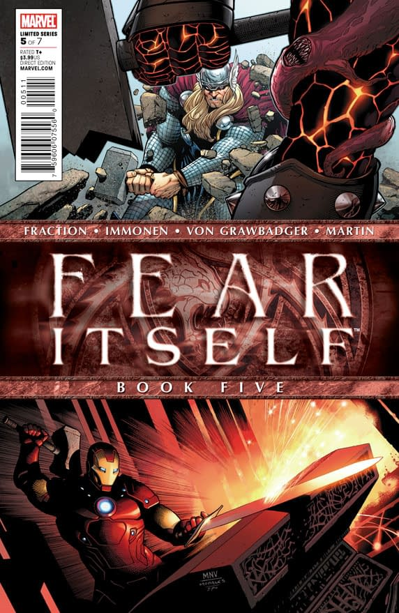 Preview: Fear Itself #5 – The One Where Everyone Just Hits Each Other With Hammers