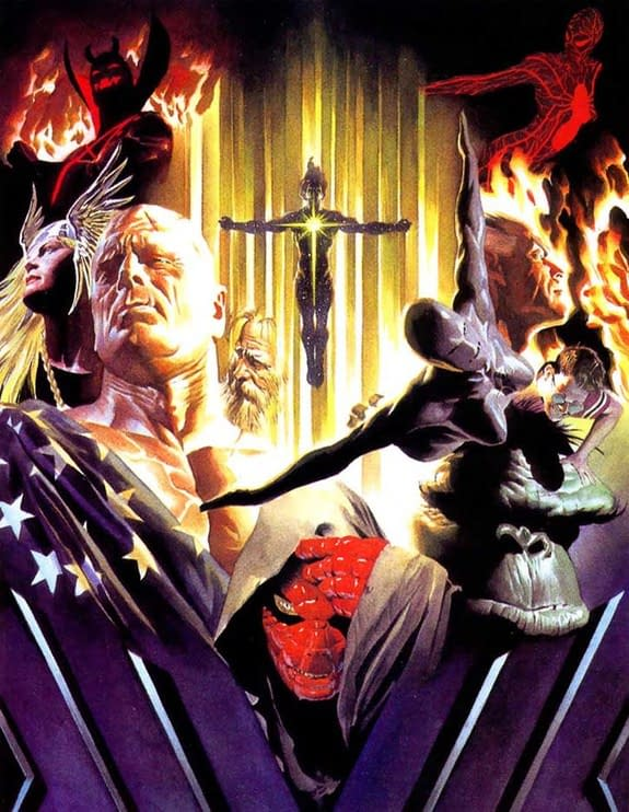 Alex Ross, Jim Krueger Well-Bee Create Earth X Prequel, Marvels X