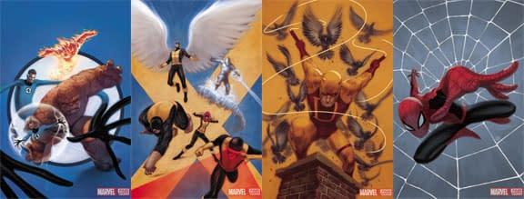 A Low Res Look At Marvel Season One Original Graphic Novels