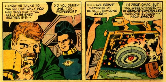 Jack Kirby and The Last Bar at the End of the World by Dean Haspiel