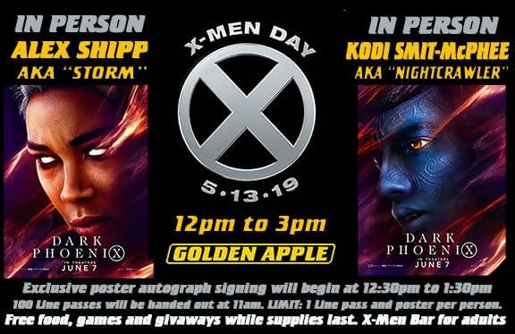 Today Is X-Men Day in Comic Stores Across The World - Here Are a Few...
