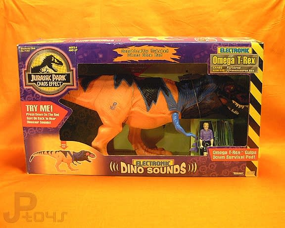 Jurassic Park Chaos Effect: Omega T-Rex and Big Box Dinos