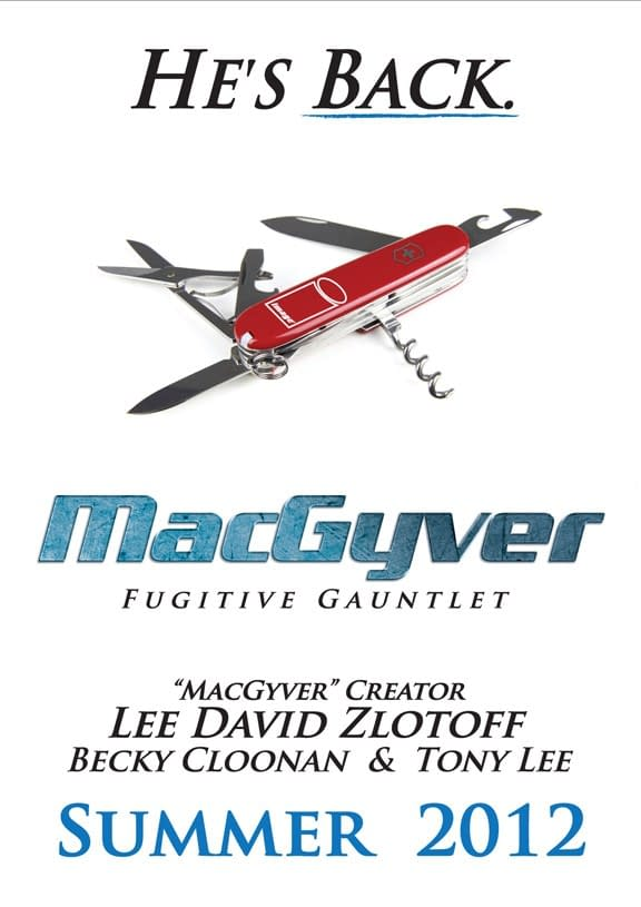 Would You Like To Draw MacGyver?