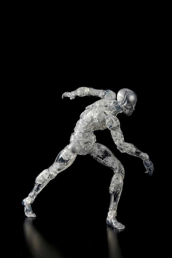 """Biomega"" Synthetic Humans Come to Life from 1000 Toys"