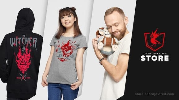 CD Projekt Red Opens Their Own Merch Store