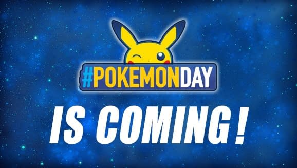 The Pokemon Company Announces Pokemon Day Tomorrow