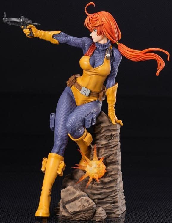 G.I. Joe Kotobukiya Bishoujo Scarlett Statue 4