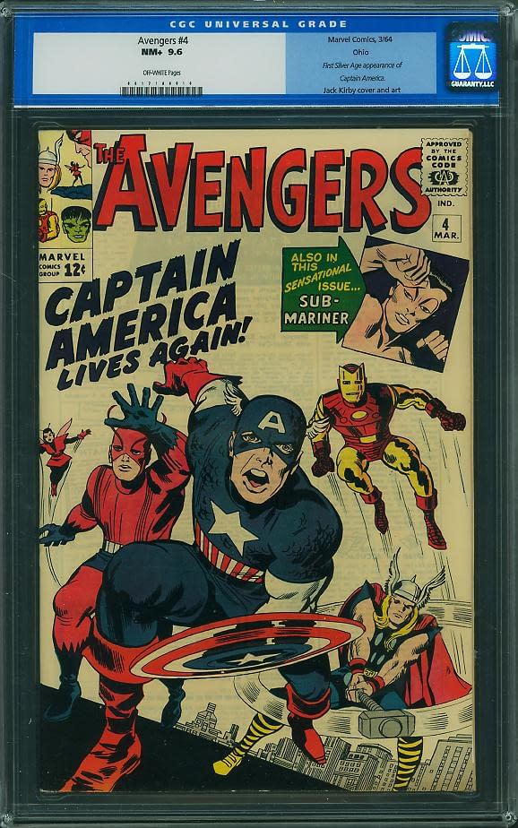 Captain America Collecting Mania Is Here: First Silver Age Appearance of First Avenger Goes For $91,500