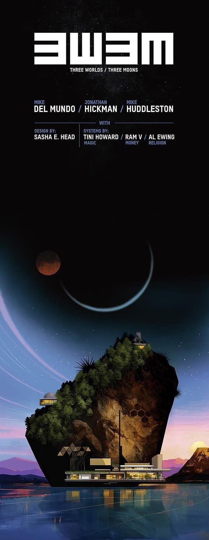 Jonathan Hickman Quits X-Men For Three Worlds Three Moons Substack?