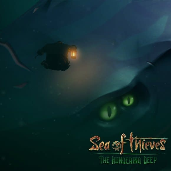 """Sea Of Thieves Shows Off Their First DLC in """"The Hungering Deep"""""""