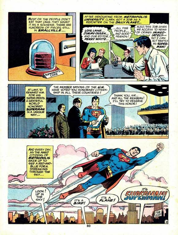 But Wasn't Superman Once A Citizen of Every Nation?