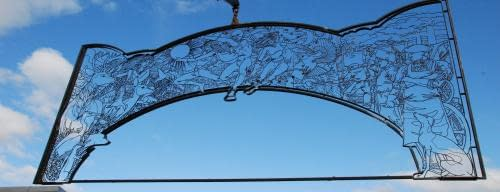 Andrew Scott Archway Inspired By Mark Millar To Be Unveiled In Coatbridge