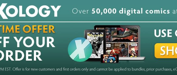 Get Half Off Your First ComiXology Purchase Whatever It Is