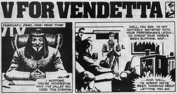 Swipe File: V For Vendetta And Life
