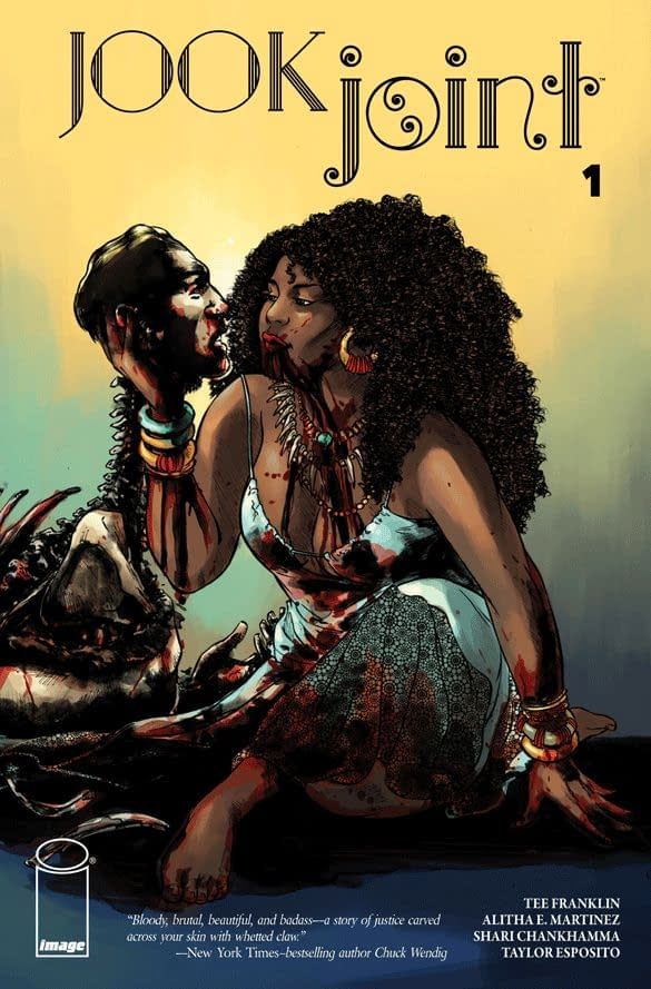 Preview: Tee Franklin andAlitha E. Martinez' Jook Joint, Out For New York Comic-Con