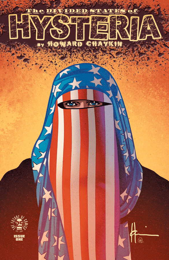 Image Creators Speak Out About Howard Chaykin's Divided States Of Hysteria