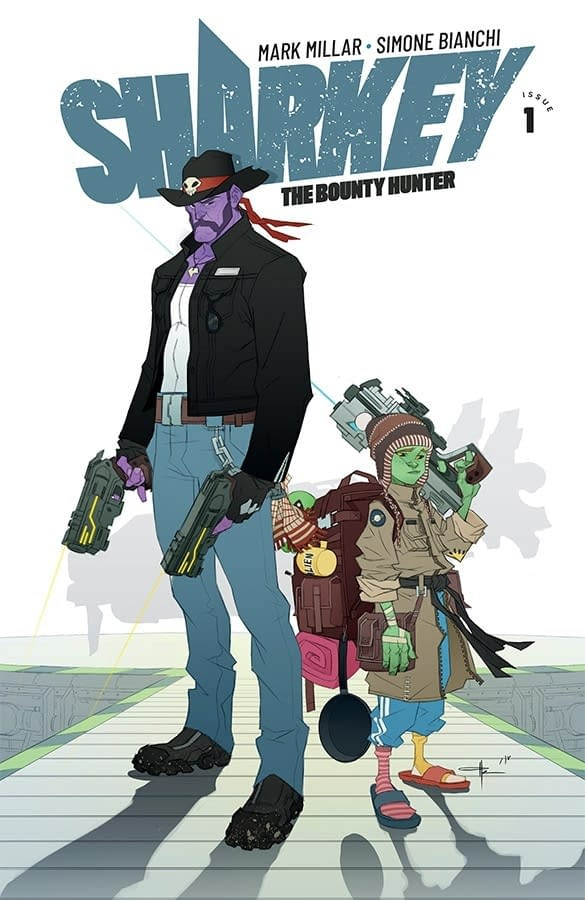 Our First Look at Mark Millar and Simone Bianchi's Sharkey The Bounty Hunter for Netflix – With Covers From Frank Quitely and Ozgur Yildirim