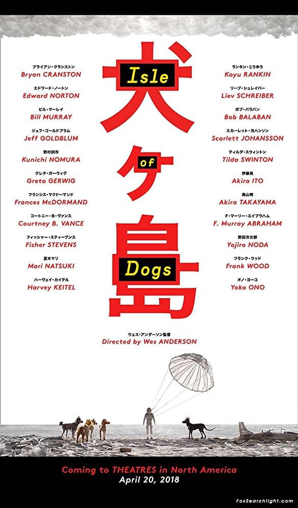Trailer: Isle Of Dogs, A Stop-Motion Animated Film By Wes Anderson