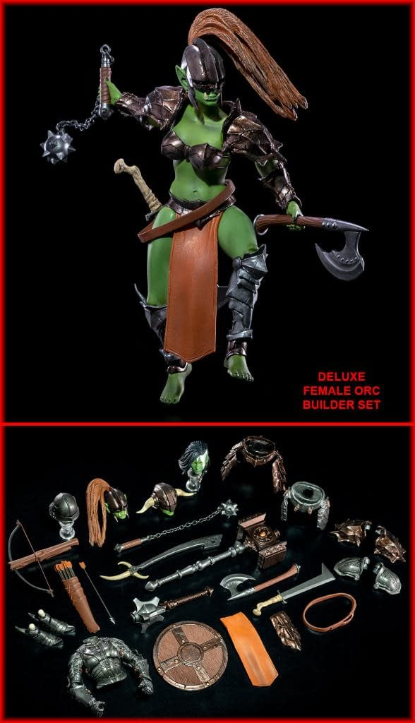 Mythic Legions Tactics Orc Builder Figure Sets Coming Soon