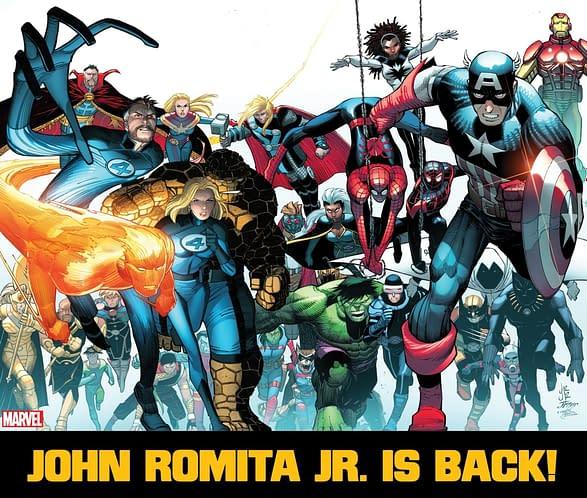 John Romita Jr Returns To Marvel From DC Comics