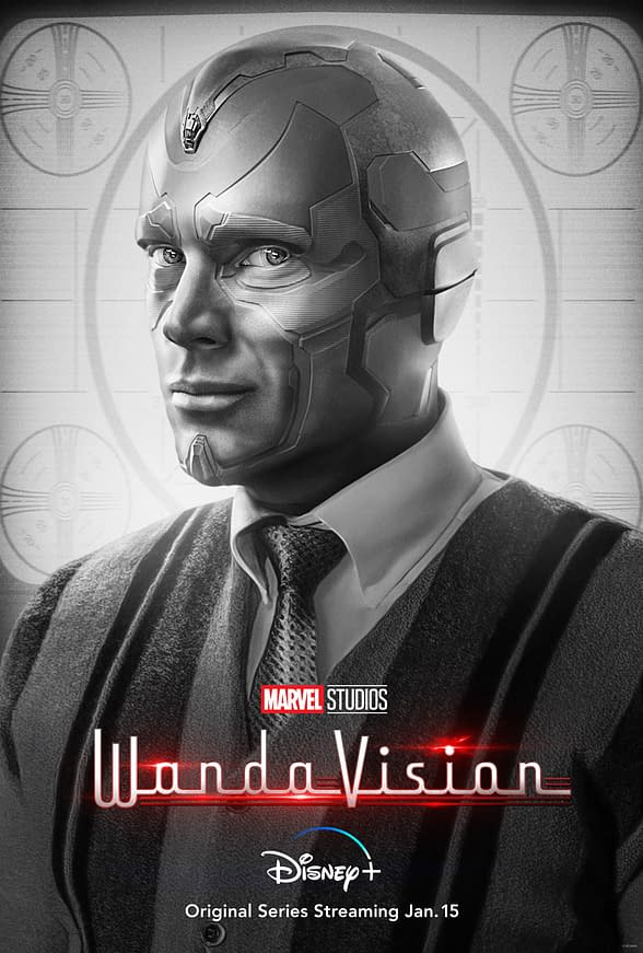 WandaVision Poster Key Art Welcomes Viewers to Vision-ary New Era