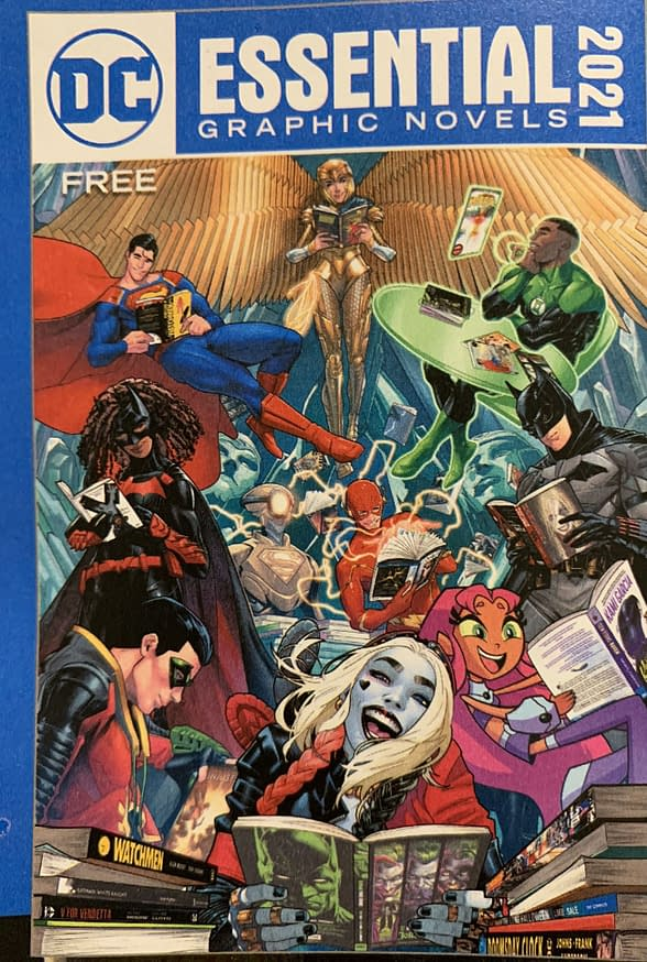 DC Essential Graphic Novels Cover 2021