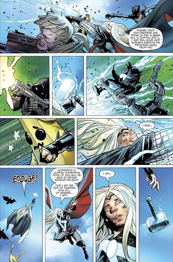 Thor Loses Mjolnir On Fortnite Island - Another Two Pages