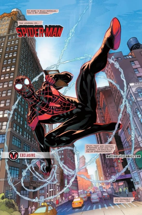 Next Week's Miles Morales: Spider-Man #1 Starts Off with a Really Bad Idea