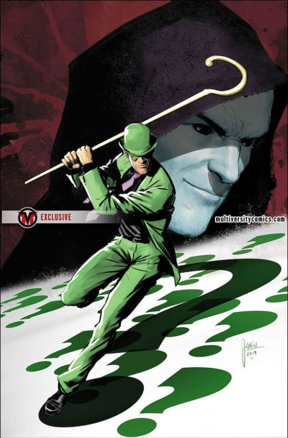 "Riddler Butthurt He Didn't Get Lex Luthor's ""Dark Gift"" in Year of the Villain One-Shot"