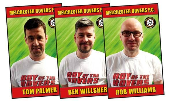Rob Williams and Ben Wilsher to Relaunch Roy of the Rovers for Rebellion