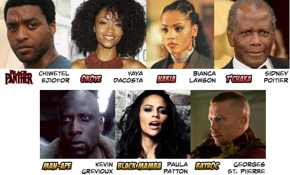 BlackPantherCast