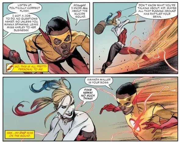 A Harley Quinn Ass Slap Doesn't Stop Teen Titans Special #1 from Going to a Second Printing