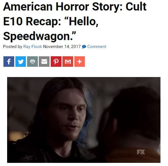 'Cult' Following E11: Bleeding Cool's American Horror Story LIVE-BLOG!