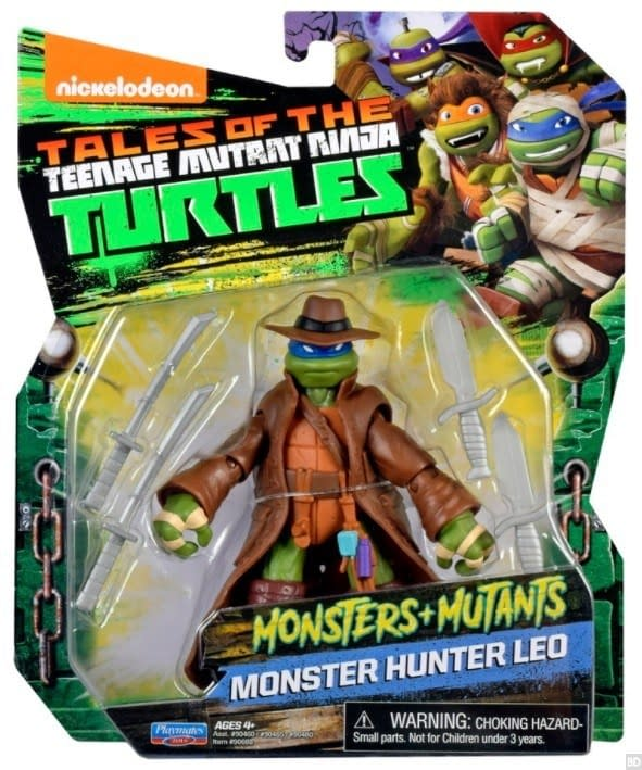 TMNT Monster Hunter Leo